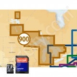 Navionics West Great Lakes Platinum Plus 900PP microSD with SD Adapter