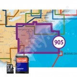 Navionics US Mid Atlantic and Canyons Platinum Plus 905PP microSD with SD Adapter