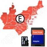 Navionics HotMaps Platinum East USA Lakes microSD with SD Adapter