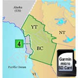 Garmin TOPO Canada North BC to South YT Card
