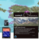 Garmin TOPO US Alaska Enhanced microSD Card