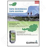 Garmin TOPO Austria DVD and microSD Card