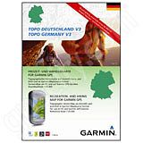 Garmin TOPO Germany North DVD and microSD Card