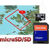 Garmin TOPO Great Britain Isle of Skye microSD Card