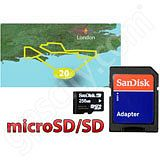 Garmin TOPO Great Britain The New Forest and South Downs microSD Card
