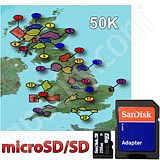 Garmin TOPO Great Britain National Parks 50K microSD Card