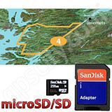 Garmin TOPO Great Britain South Highlands microSD Card