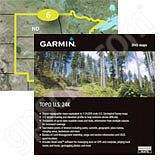 Garmin TOPO US 24K NP microSD Card with SD Adapter