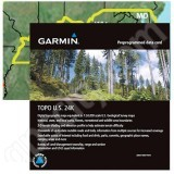 Garmin TOPO US 24K Mid-Atlantic microSD Card with SD Adapter