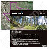 Garmin TOPO US 24K TX microSD Card with SD Adapter