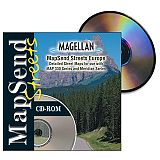 Magellan MapSend Europe CD