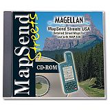 Magellan MapSend USA CD