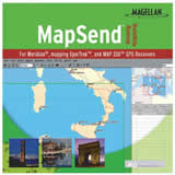 Magellan MapSend World CD