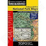 National Geographic Topo! 15 Major National Parks