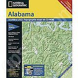 National Geographic Topo! Alabama for WINDOWS