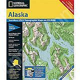 National Geographic Topo! Alaska for WINDOWS