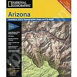National Geographic Topo! Arizona for WINDOWS