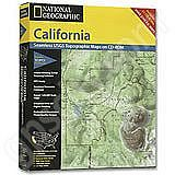 National Geographic Topo! California for WINDOWS