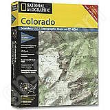 National Geographic Topo! Colorado for WINDOWS