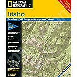 National Geographic Topo! Idaho for WINDOWS