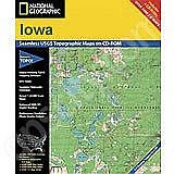 National Geographic Topo! Iowa for WINDOWS