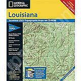National Geographic Topo! Louisiana for WINDOWS