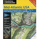National Geographic Topo! Mid Atlantic for WINDOWS