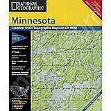 National Geographic Topo! Minnesota for WINDOWS