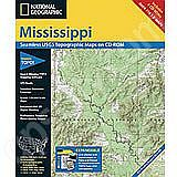 National Geographic Topo! Mississippi for WINDOWS
