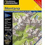 National Geographic Topo! Montana for WINDOWS