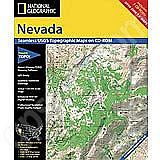 National Geographic Topo! Nevada for WINDOWS
