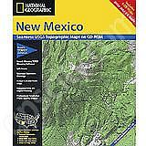 National Geographic Topo! New Mexico for WINDOWS