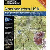 National Geographic Topo! Nth East US for WINDOWS