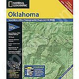 National Geographic Topo! Oklahoma for WINDOWS