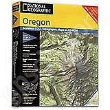 National Geographic Topo! Oregon for WINDOWS