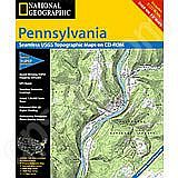 National Geographic Topo! Pennsylvania for WINDOWS