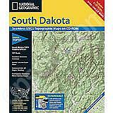 National Geographic Topo! Sth Dakota for WINDOWS