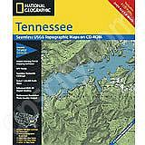 National Geographic Topo! Tennessee for WINDOWS