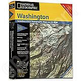 National Geographic Topo! Washington for WINDOWS