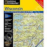 National Geographic Topo! Wisconsin for WINDOWS