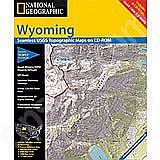 National Geographic Topo! Wyoming for WINDOWS
