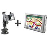 Garmin Nuvi 650 with RAM Suction Mount