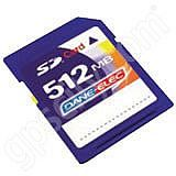 DaneElec 512MB SD Data Card
