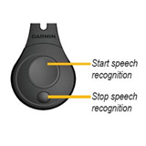 Garmin Speech Recognition Remote