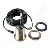 Garmin Airmar B60 Dual Freq Bronze 600W Transducer Thru-Hull Depth Temp