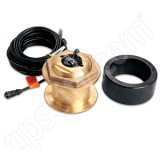 Garmin Airmar 8 Pin Dual Freq Bronze 1kW Transducer Thru-Hull 0 Degree