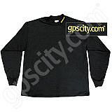 GPS City Black Long Sleeve Mock Turtleneck Large