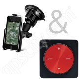 Dual Apple iPod Touch Suction Cup Mount with XGPS Receiver