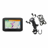 garmin zumo 396 lmt s and ram b 149z un7u x grip zinc u bolt rail mount. Black Bedroom Furniture Sets. Home Design Ideas