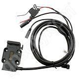 Garmin Zumo 660 and 665 Motorcycle Cradle with Integrated Power Cable